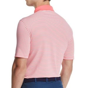 Peter Millar Competition Stripe Jersey Polo Shirt
